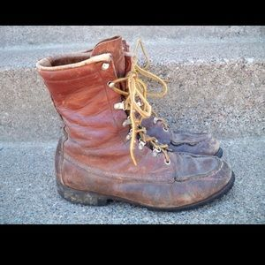 Vtg RED WING IRISH SETTER Sport Work Boots Boots 8
